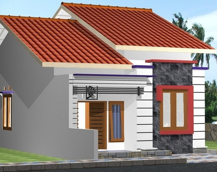 contoh atap baja ringan rumah minimalis model rangka kitchen ideas