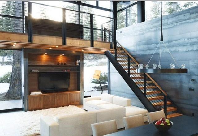 Model Tangga Rumah Tingkat  Interior Rumah 2230