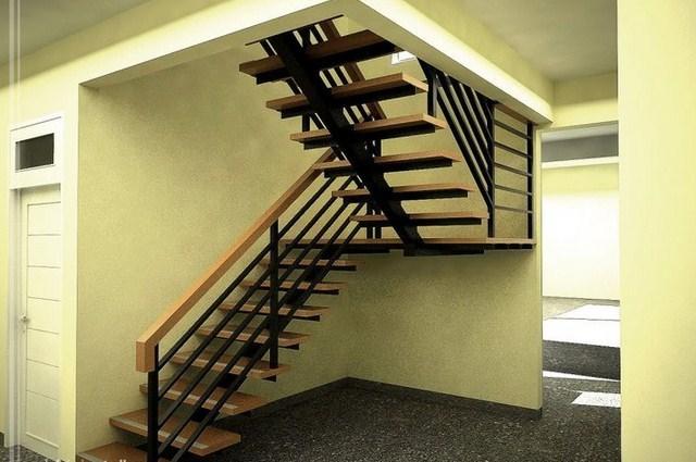 Tangga Baja Kecil Minimalis  Interior Rumah 2235