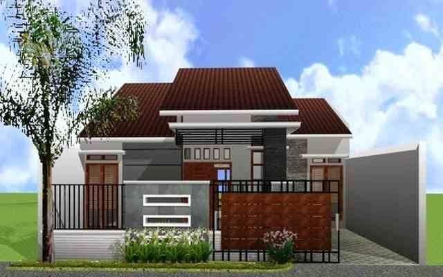 model desain tampak depan rumah minimalis 1 dan 2 lantai
