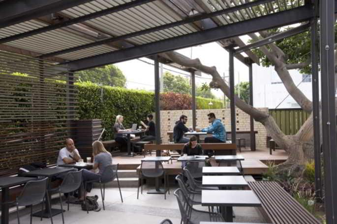 Contoh Desain Cafe Outdoor Sederhana  Desain Cafe 3950