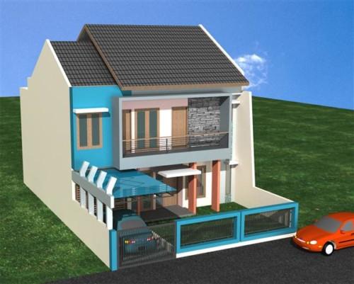 Contoh Warna Cat Rumah Minimalis Bagian Depan 3 - 30 Contoh Warna Cat Rumah Minimalis Bagian Depan yang Populer
