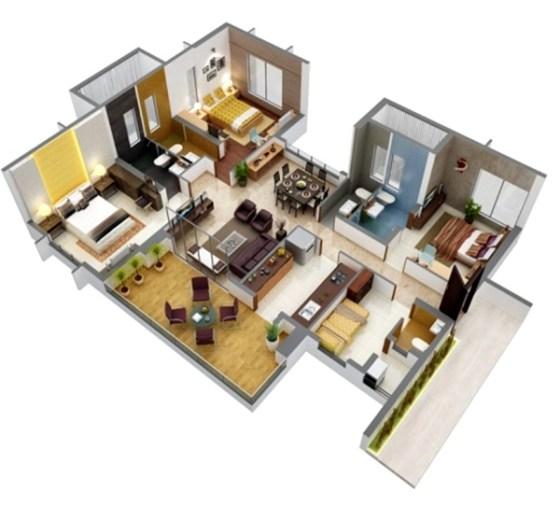 Desain Rumah Minimalis 1 Lantai Type 36 6 - 15 Desain Rumah Minimalis Type 36 Sederhana dan Modern