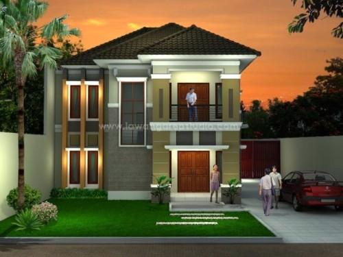 Pagar Teras Rumah Minimalis Lantai 2 Rumah Joglo Limasan Work