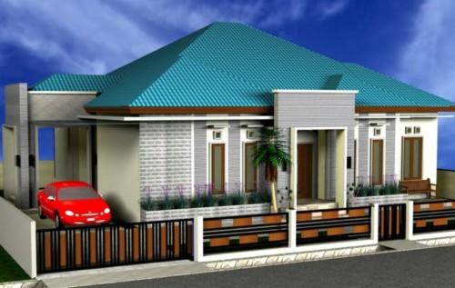 Desain Rumah Mewah 1 Lantai Modern 4 - 21 Desain Rumah Mewah 1 Lantai Modern Terbaru 2018