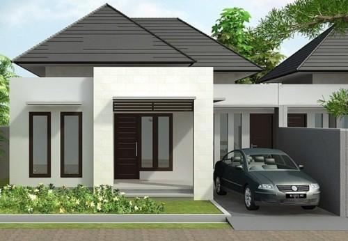 Desain Rumah Minimalis Type 45 Modern 4