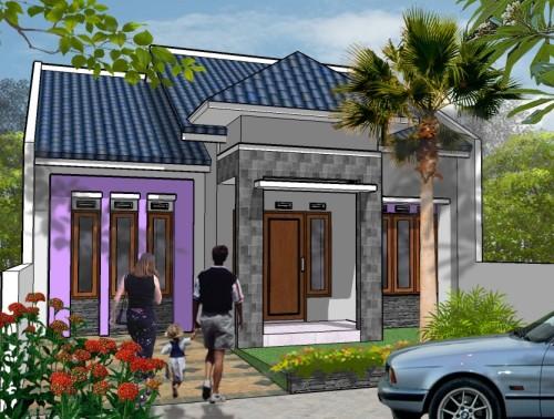 Desain Rumah Minimalis Type 45 Modern 6 - 20+ Desain Rumah Minimalis Type 45 Modern Terbaru 2018