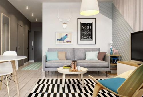 17 Gambar Ruang Tamu Kecil Modern Dan Cantik Terbaru