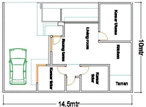Sketsa Rumah Minimalis Sederhana 3 - 20 Contoh Gambar Sketsa Rumah Minimalis Sederhana Terbaru