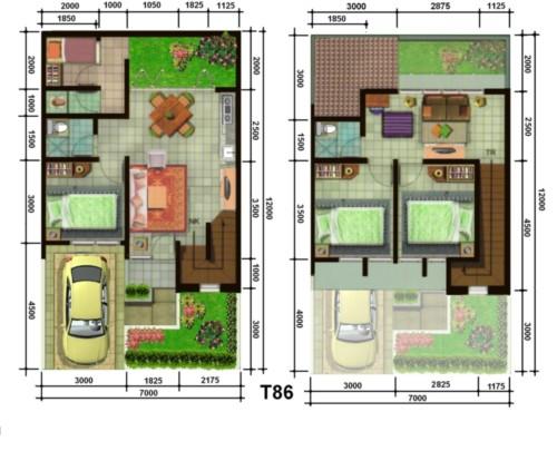 Sketsa Rumah Minimalis Sederhana 9 - 20 Contoh Gambar Sketsa Rumah Minimalis Sederhana Terbaru