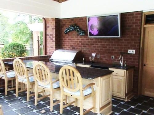Desain Dapur Minimalis Terbuka Dekat Taman Belakang Rumah 15 - 15 Desain Dapur Minimalis Terbuka Dekat Taman Belakang Rumah