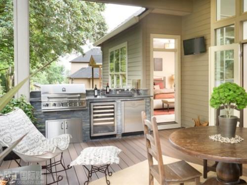 98+ Desain Dapur Terbuka Di Halaman Belakang HD