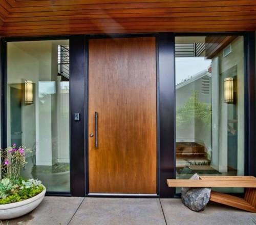 Model Pintu Minimalis Elegan Terlengkap 1 - Tips Memilih Pintu Rumah Minimalis & 50++ Contoh Desain.