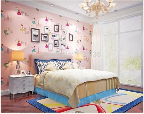 Wallpaper Desain Kamar Tidur Pengantin Romantis 14