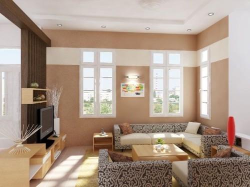 Warna Cat Ruang Tamu Minimalis Sempit 1 - 18 Warna Cat Ruang Tamu Minimalis yang Bagus Terbaru