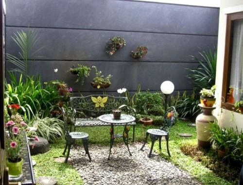 Desain Taman Minimalis Belakang Rumah 9 - 23 Desain Taman Minimalis Depan dan Belakang Rumah Terbaik