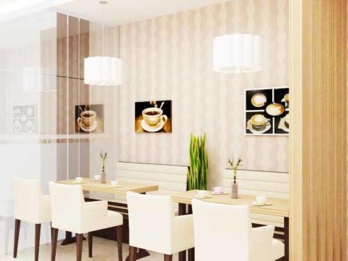 Desain Ruang Makan Bergaya Cafe 6 - 15 Desain Ruang Makan Bergaya Cafe yang Cantik dan Unik