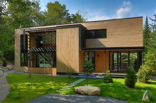 Desain Rumah Kayu Minimalis Sederhana Terbaru 2017/2018
