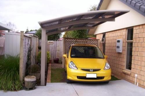 Ukuran Garasi Mobil Minimalis Kecil - 23 Desain Garasi Mobil Rumah Minimalis Kecil Terlengkap 2018