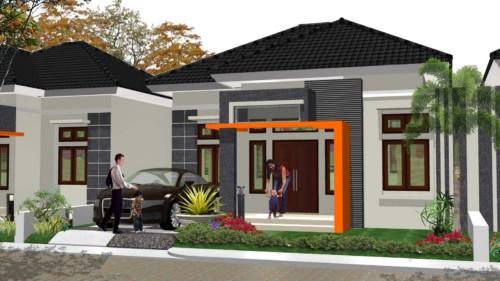 esain Garasi Mobil Rumah Minimalis 10 - 23 Desain Garasi Mobil Rumah Minimalis Kecil Terlengkap 2018