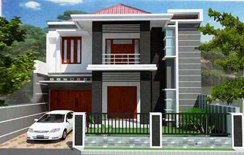 esain Garasi Mobil Rumah Minimalis 5 - 23 Desain Garasi Mobil Rumah Minimalis Kecil Terlengkap 2018