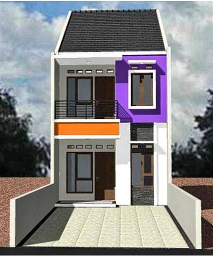 Desain Rumah Kecil 2 Lantai 2 - 22 Desain Rumah Kecil Mungil yang Tidak Kalah Cantik