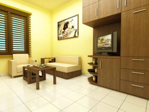 Interior Rumah Kecil Multifungsi