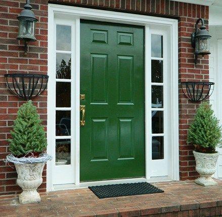 Kombinasi Warna Cat Kusen Pintu Jendela Rumah 4 - Tips Memilih Pintu Rumah Minimalis & 50++ Contoh Desain.