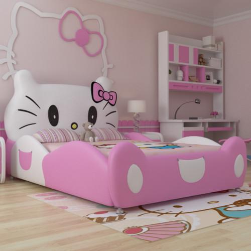 Desain Gambar Kamar Tidur Hello Kitty Anak Perempuan 6 - 25 Desain Gambar Kamar Tidur Hello Kitty Anak Perempuan