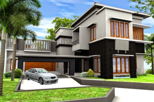 Desain Rumah Minimalis dengan Halaman Luas 4 - 17 Desain Rumah Minimalis dengan Halaman Luas