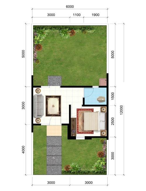 16 Desain Rumah Minimalis Type 21 Kecil Dan Mungil