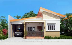 33 desain rumah sederhana tapi mewah 1 lantai yang elegan