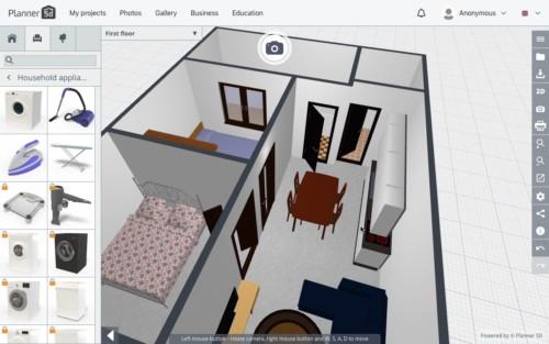 Langkah Desain 3D 5 - 7 Langkah Mudah Buat Sendiri Denah Rumah Minimalis