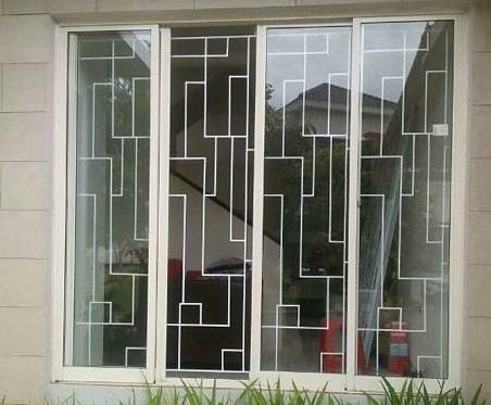teralis jendela terbaru minimalis - Model Teralis Jendela Rumah Minimalis Modern Terbaru 2019