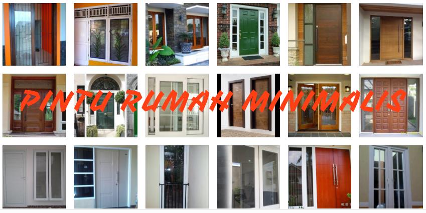 pintu rumah - Tips Memilih Pintu Rumah Minimalis & 50++ Contoh Desain.