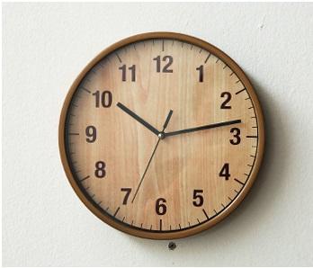 Jam dinding kayu 1 - Inspirasi Dekorasi Interior 🕒 Jam Dinding Minimalis