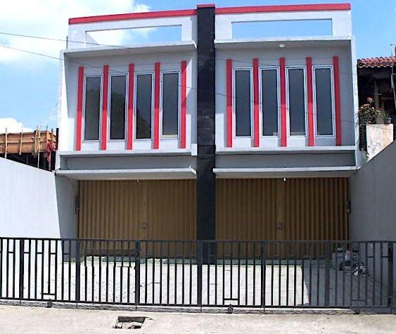 rumah toko 2 lantai muka toko - Tips Desain Rumah dan Toko dalam Satu Bangunan 2019