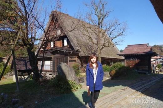 Desain rumah Jepang Pedesaan Shirikawa