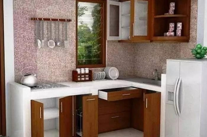 17+ Desain Dapur Minimalis Ukuran 2x3 Meter Terbaru 2020