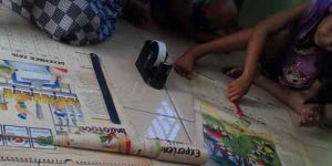Kriya Membuat Mainan Tongkat Kertas Ajaib 2