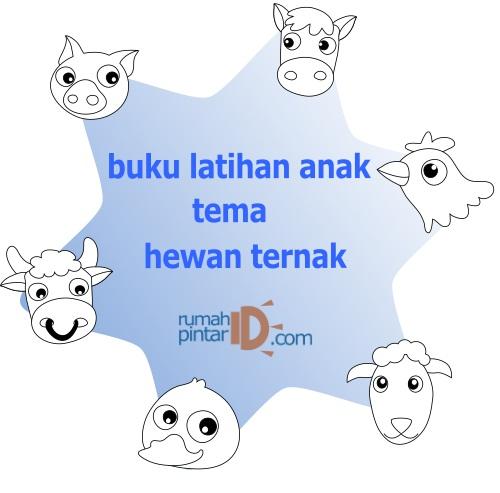 gambar hewan tema binatang ternak untuk anak anak