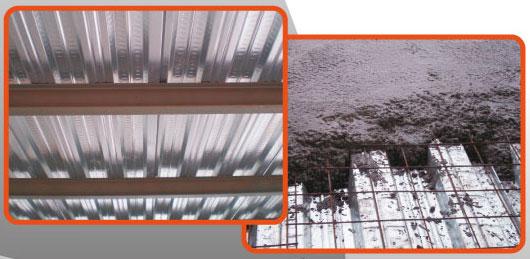 memasang plafon baja ringan floordek (bondek) | toko utama pekalongan