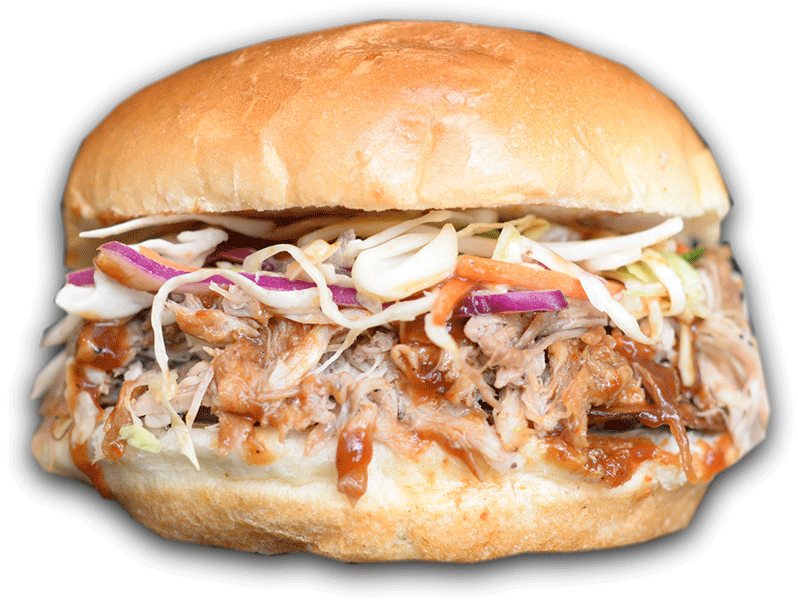 Rumbi Luau Pork Sandwich