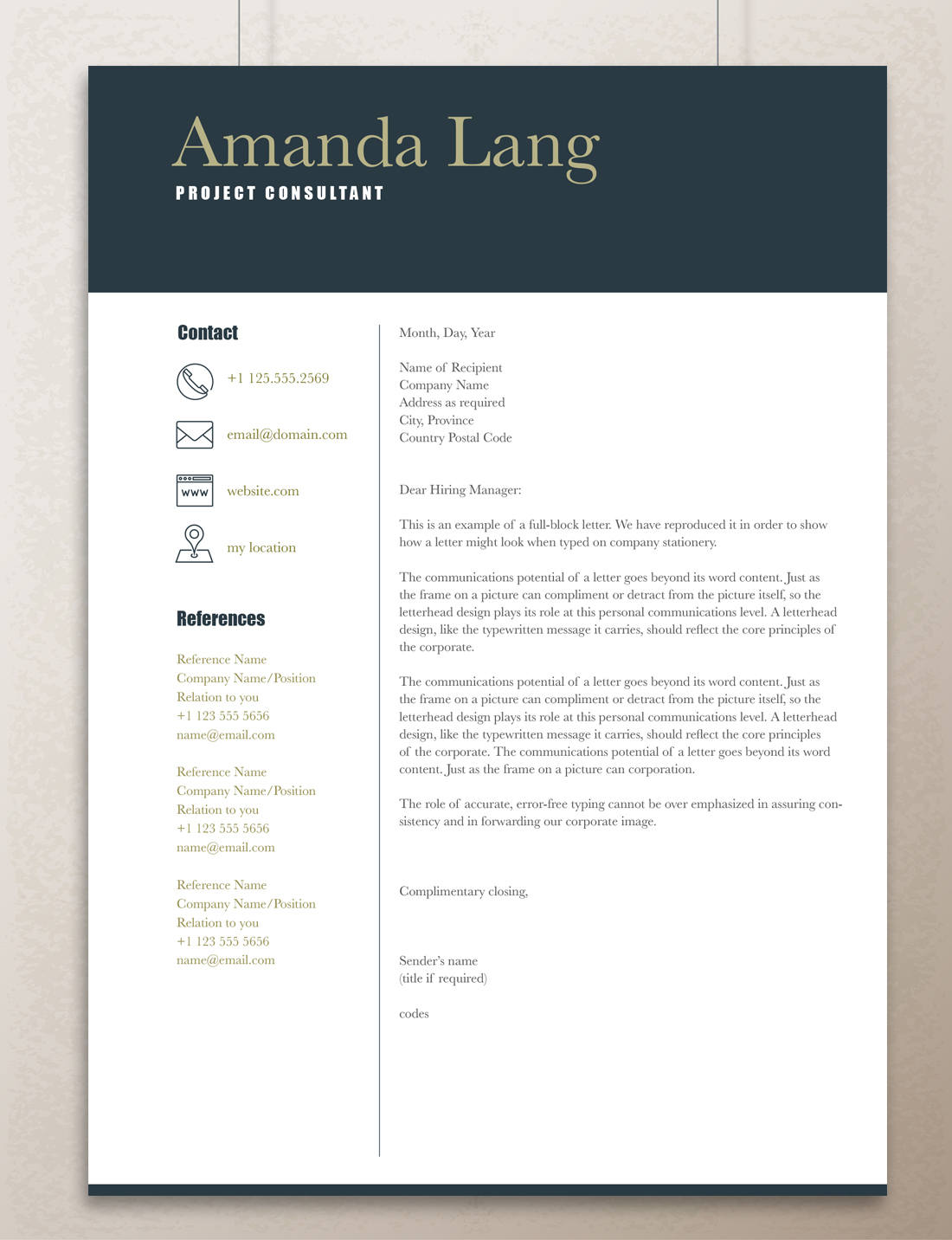 Dummy Resume Download