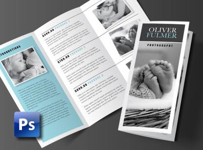 Trifold Brochure Template Photoshop Template Rumble Design Store - Tri fold brochure photoshop template