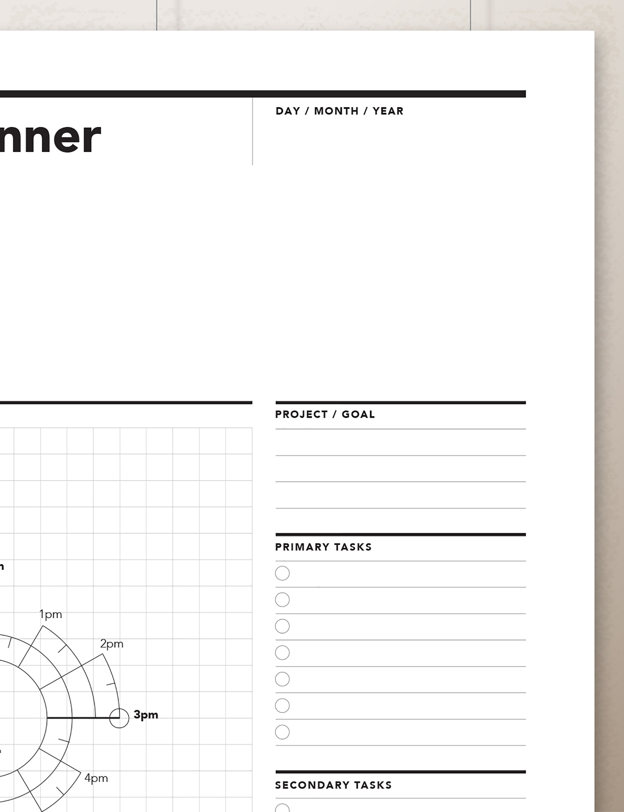 image relating to Student Agenda Printable identified as Chronodex Day-to-day Planner