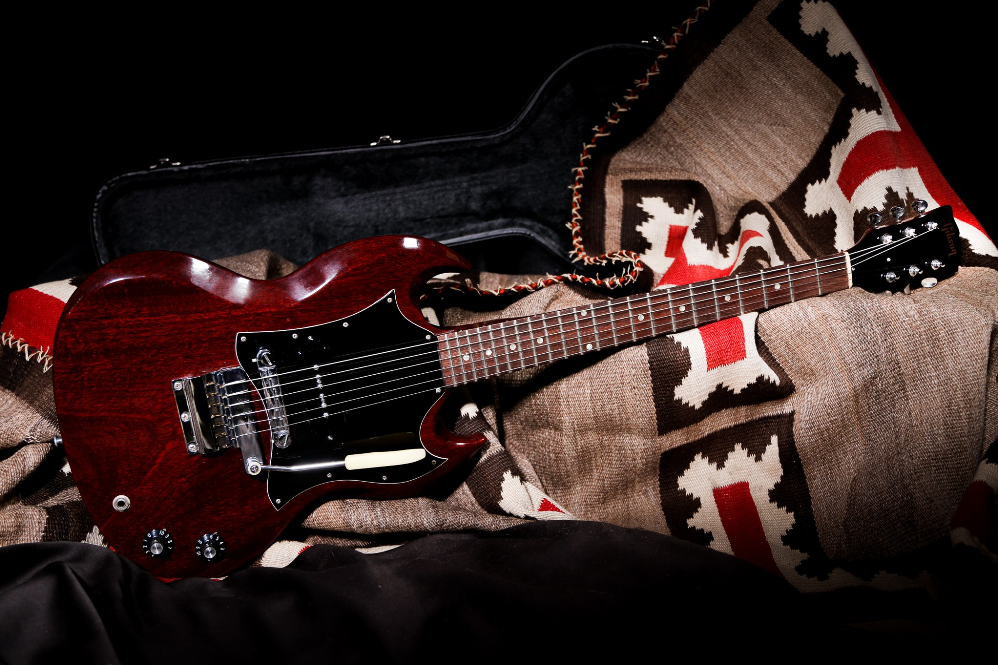 hight resolution of 1969 gibson sg jr cherry