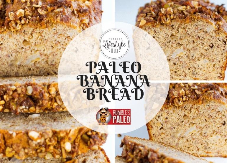 paleo recipes banana bread cake rumbles paleo healthy