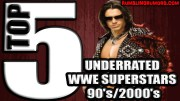 Top 5 UnderRated WWE Superstars of the 90's/2000's