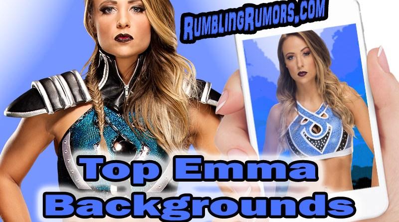 WWE Superstar Emma Backgrounds!